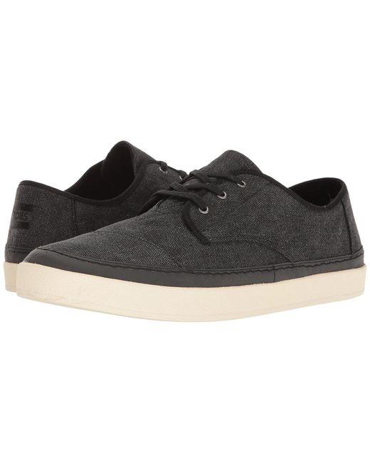 TOMS | Black Paseo Sneaker for Men | Lyst