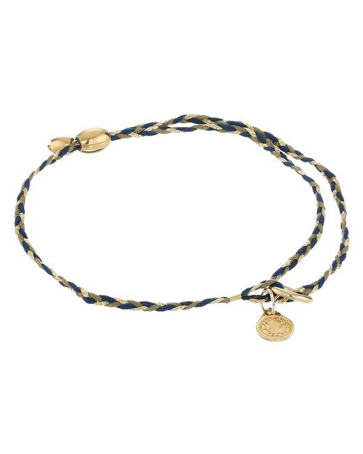 ALEX AND ANI   Metallic Precious Threads Soul Blue Braid   Lyst