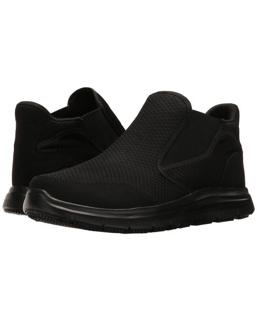 Skechers Work | Black Flex Advantage Sr - Alburne for Men | Lyst