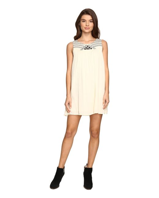 Rip Curl | Natural Gypsy Moon Dress | Lyst