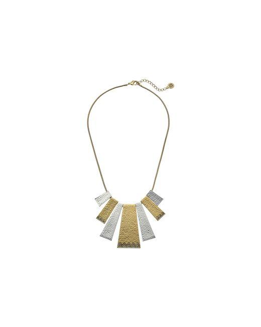 House of Harlow 1960 | Metallic Golden Scutum Statement Necklace | Lyst