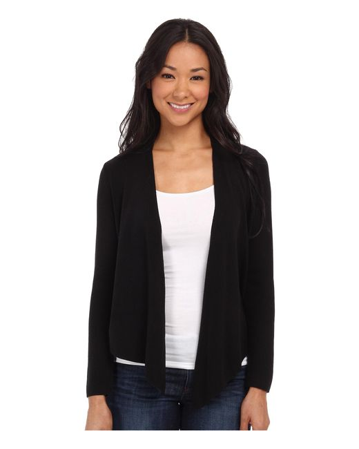 NIC+ZOE | Black Long-sleeve 4-way Cardy | Lyst