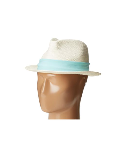Michael Stars | Multicolor Ripped Tied Fedora for Men | Lyst