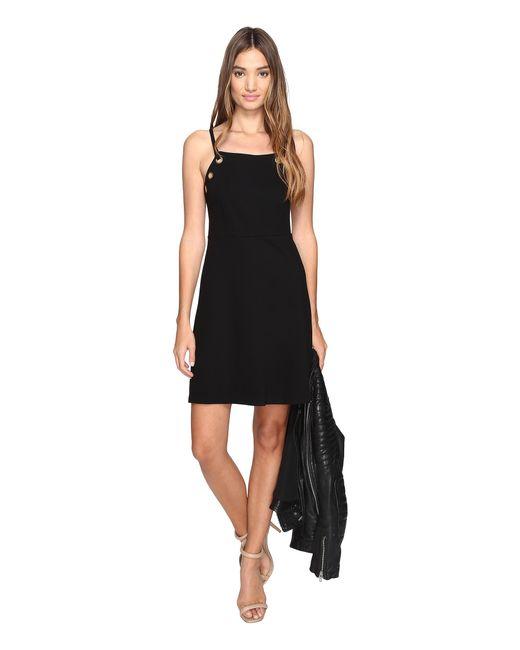 Kensie | Black Twill Ponte Dress Ks2k7718 | Lyst