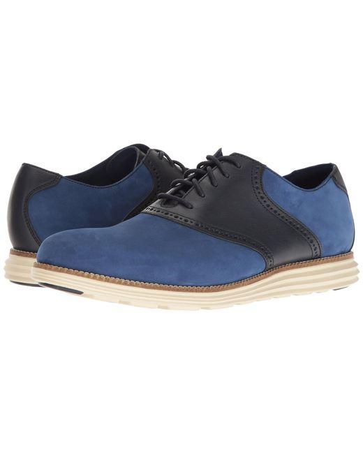 Cole Haan | Blue Original Grand Saddle Ii for Men | Lyst
