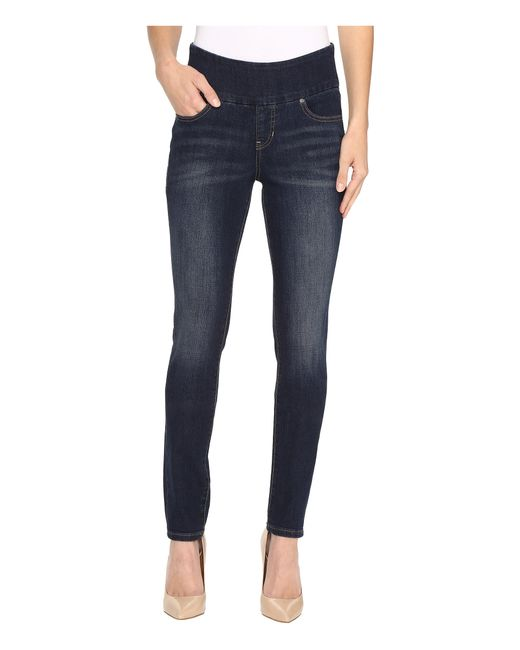 Jag Jeans | Blue Nora Pull-on Frontline Denim Skinny In Deep Ocean | Lyst