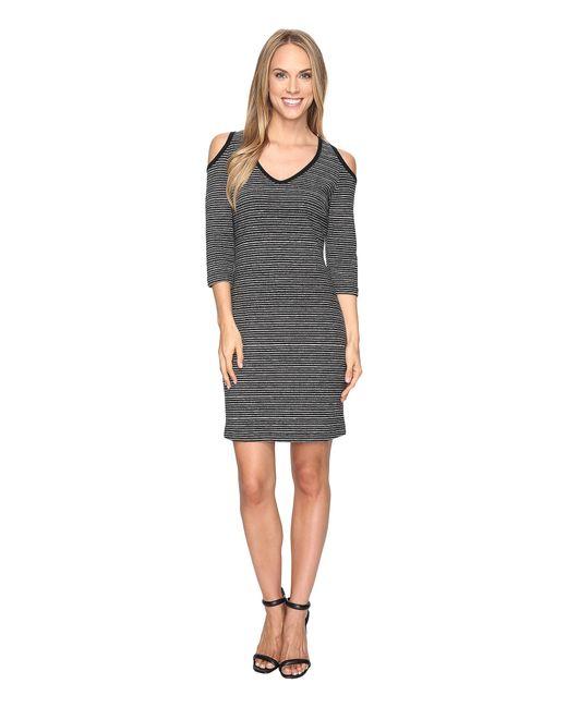 Karen Kane   Gray Cold Shoulder Sheath Dress   Lyst