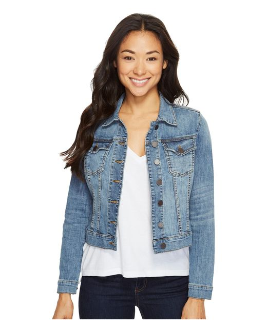 Kut From The Kloth   Blue Petite Helena Jacket In Empathetic   Lyst