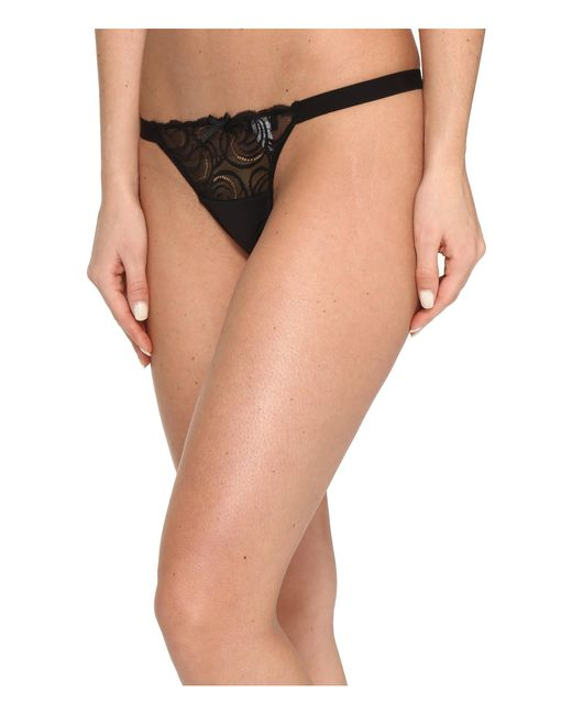 Cosabella | Black Evolved G-string | Lyst