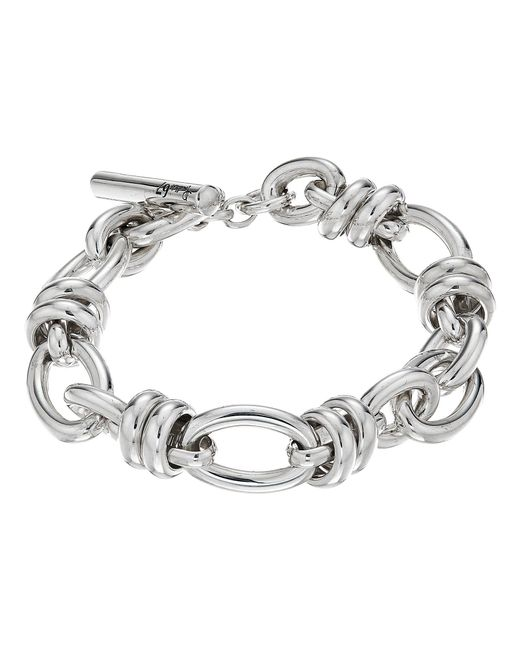 Pomellato   Metallic B.b220t/a/22 22cm Rondelle Oval Bracelet   Lyst