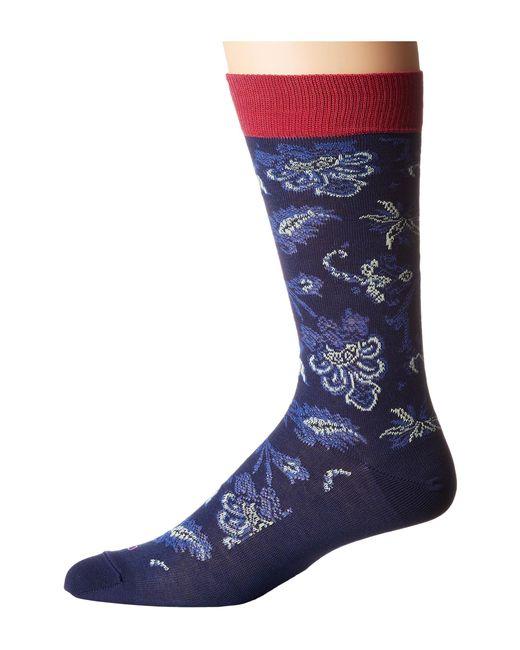 Etro | Blue Paisley Socks for Men | Lyst