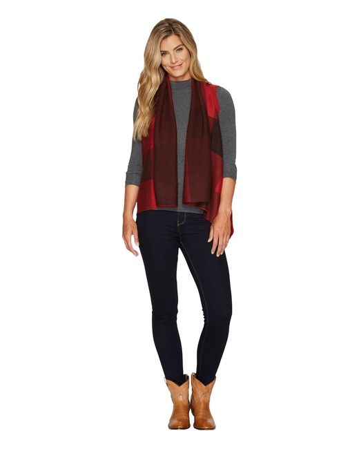 Woolrich   Red Buffalo Sweater Vest   Lyst
