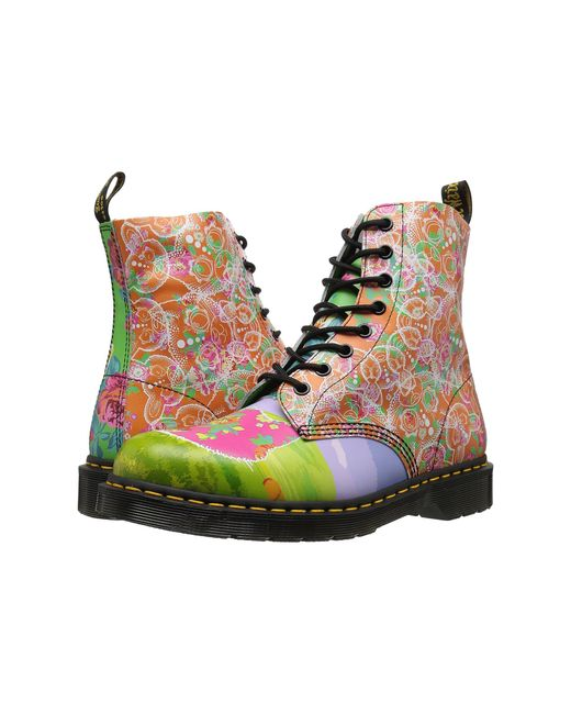 Dr. Martens | Multicolor Pascal Daze 8-eye Boot | Lyst
