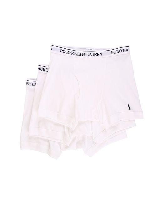 Polo Ralph Lauren   White 3-pack Boxer Brief for Men   Lyst