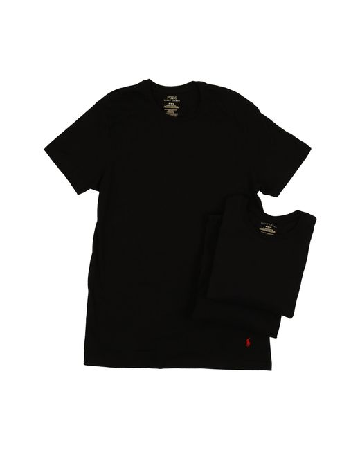 Polo Ralph Lauren | Black 3-pack Crew T-shirt for Men | Lyst