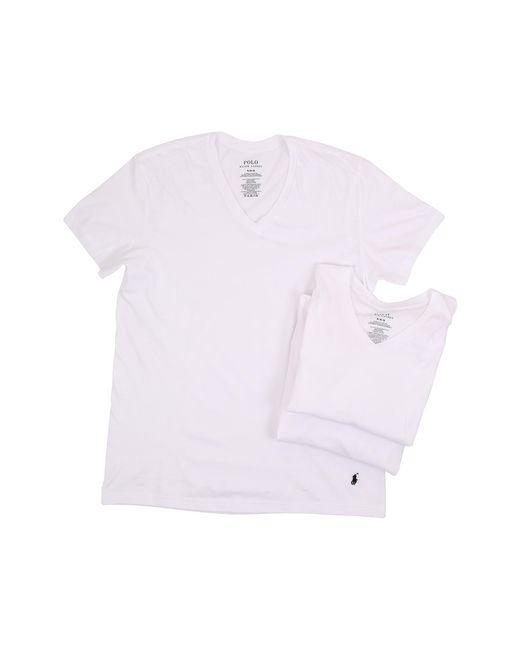 Polo Ralph Lauren   White 3-pack V-neck T-shirt for Men   Lyst