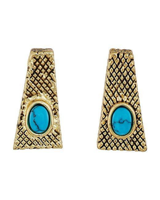 House of Harlow 1960 | Multicolor Tanta Crosshatch Stud Earrings | Lyst