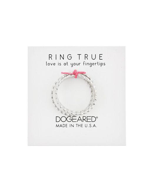 Dogeared | Metallic The Circle Thin Multi Circle Rings Set Of 3 | Lyst