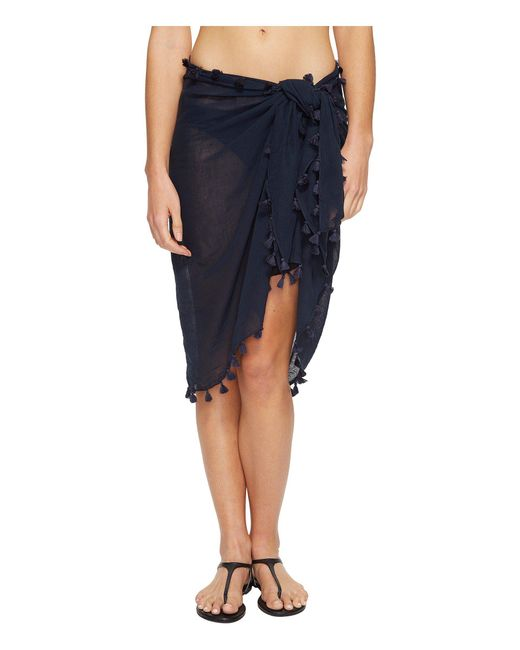 Seafolly | Blue Cotton Gauze Sarong | Lyst