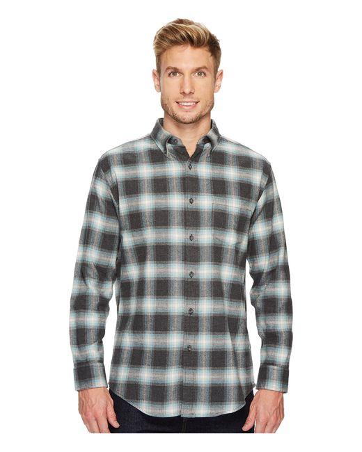 Pendleton | Gray Lister Flannel Shirt for Men | Lyst