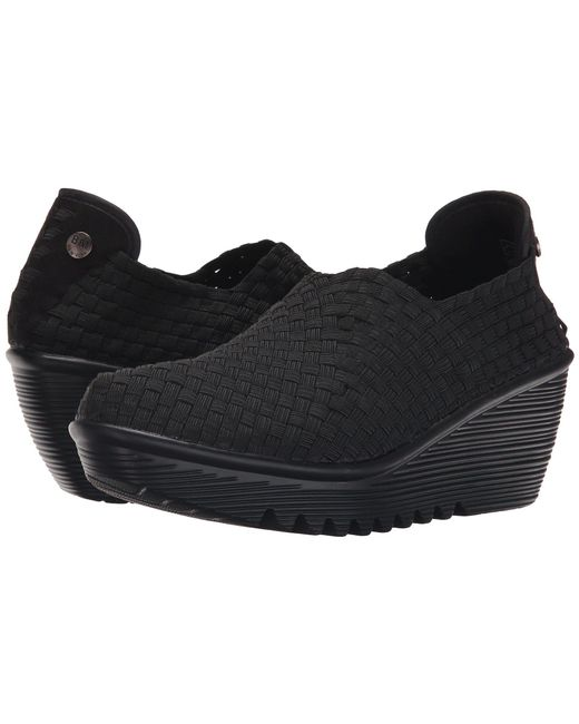 9c4dc8719e2 Lyst - Bernie Mev Gem (black) Women s Wedge Shoes in Black
