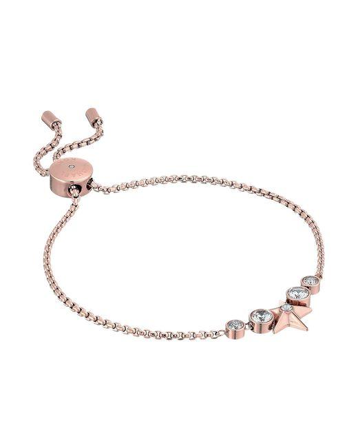 Michael Kors   Metallic Brilliance Slider Bracelet W/ Centered Star   Lyst