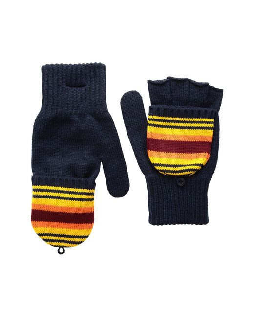 Pendleton - Blue National Park Mitten (crater Lake Stripe) Wool Gloves - Lyst