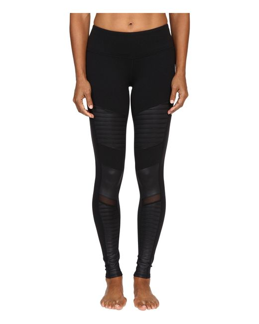 Alo Yoga - Black Moto Leggings - Lyst