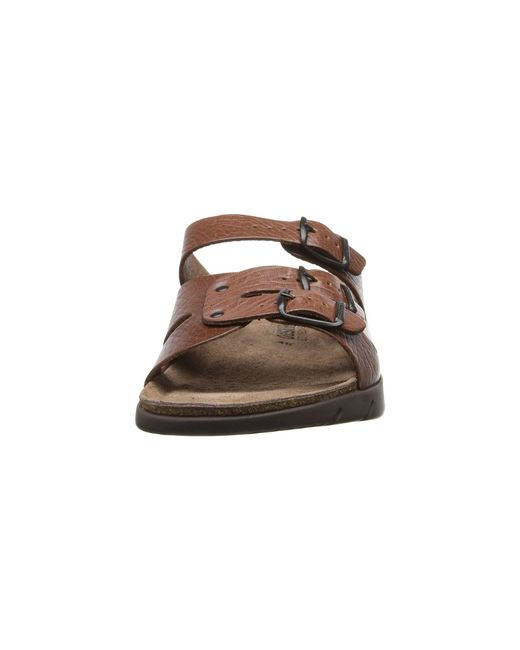 4e47c3c33727 ... Mephisto - Brown Zach (tan Full Grain Leather) Men s Sandals for Men -  Lyst