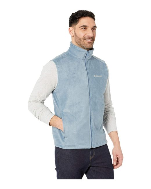 cd4db03807e4b6 ... Columbia - Blue Steens Mountaintm Vest (stone delta) Men s Vest for Men  ...