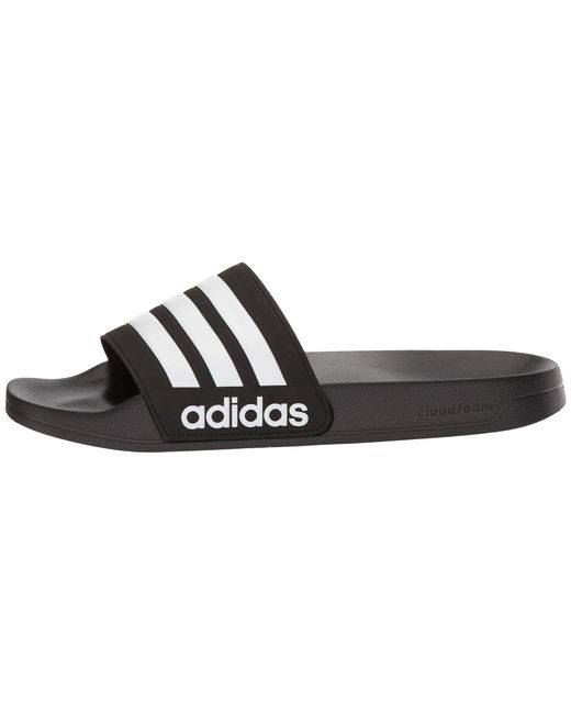 25bb621f087547 ... Adidas - Adilette Cf (black white black) Men s Slide Shoes for Men ...