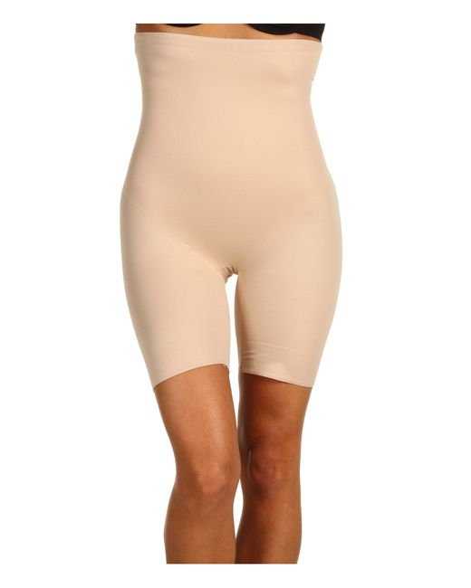 Miraclesuit - Natural Extra Firm Real Smooth Hi-waist Thigh Slimmer - Lyst