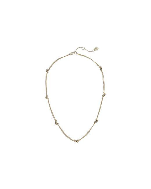 Lauren by Ralph Lauren - Metallic Classic Metal Knots 17 Station Necklace (gold) Necklace - Lyst