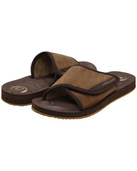 Cobian - Gray Gts Draino (chocolate) Men's Sandals for Men - Lyst