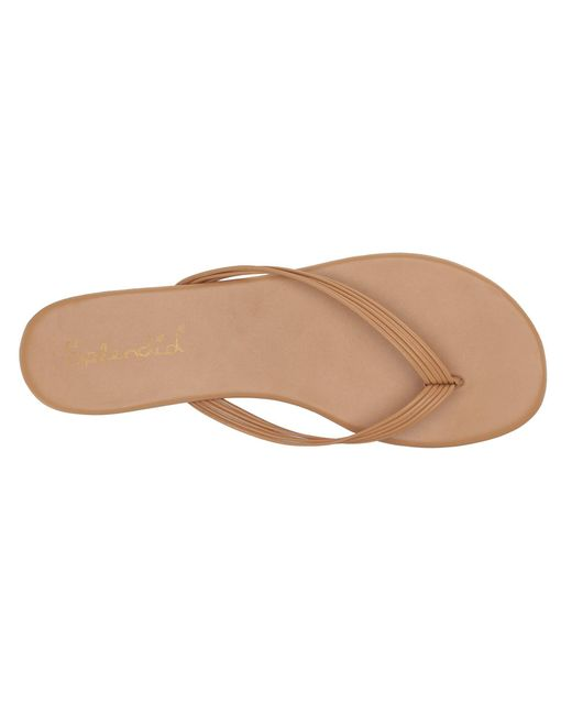fbba46930b29 ... Splendid - Natural Shyanne (black Sheep Nappa Leather) Women s Sandals  ...