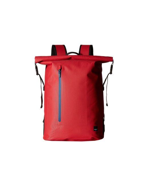 Knomo - Thames Cromwell Top Zip Backpack (formula One Red) Backpack Bags for Men - Lyst
