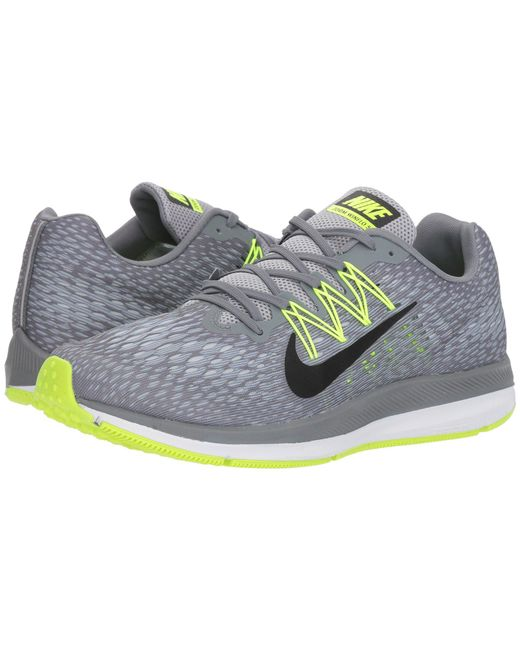 eb270819dc17c Nike - Gray Air Zoom Winflo 5 (black anthracite) Men s Running Shoes for ...