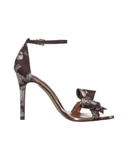 eced0e884be Lyst - Ted Baker Bowdalp (black Narnia) Women s Shoes in Black
