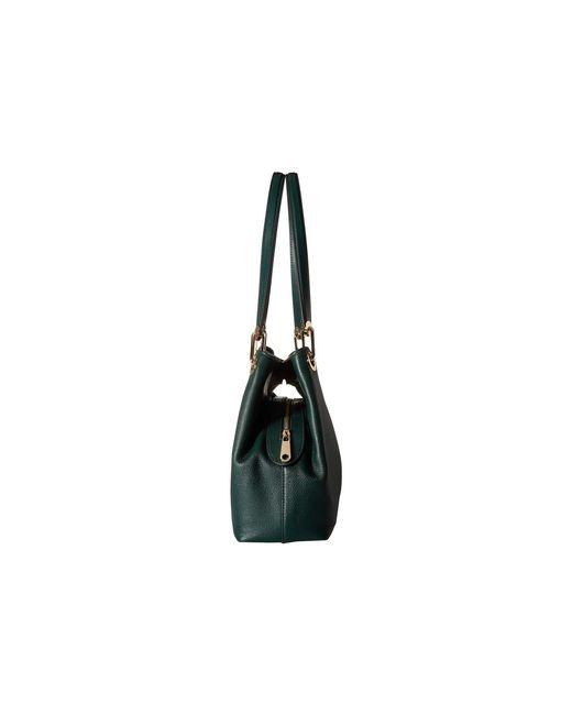 6bdeb49c1e34 ... MICHAEL Michael Kors - Green Raven Large Shoulder Tote (black) Tote  Handbags - Lyst ...