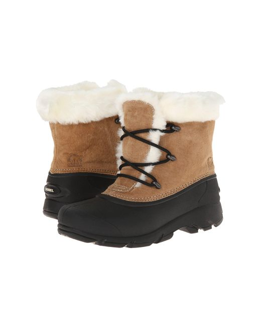 Sorel - Brown Snow Angeltm Lace (rootbeer) Women's Boots - Lyst