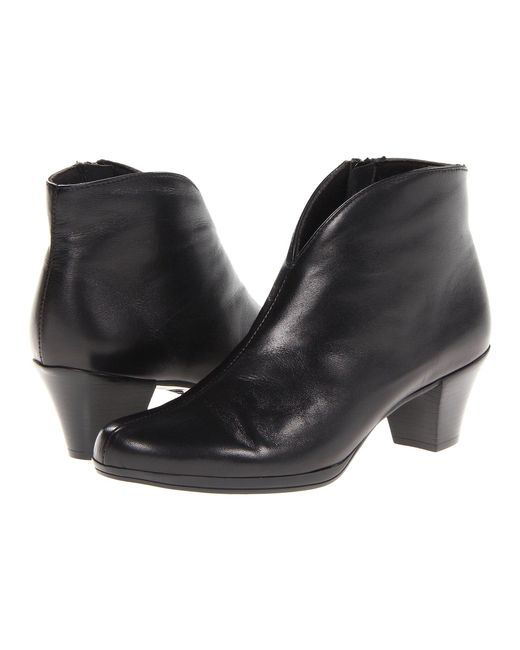 Munro - Robyn (black Leather) Women's Boots - Lyst