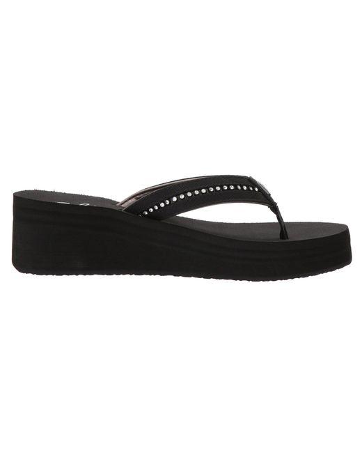 b4ff7e91f ... Lyst Cobian - Black Tiffany Ii (gold) Women s Sandals ...