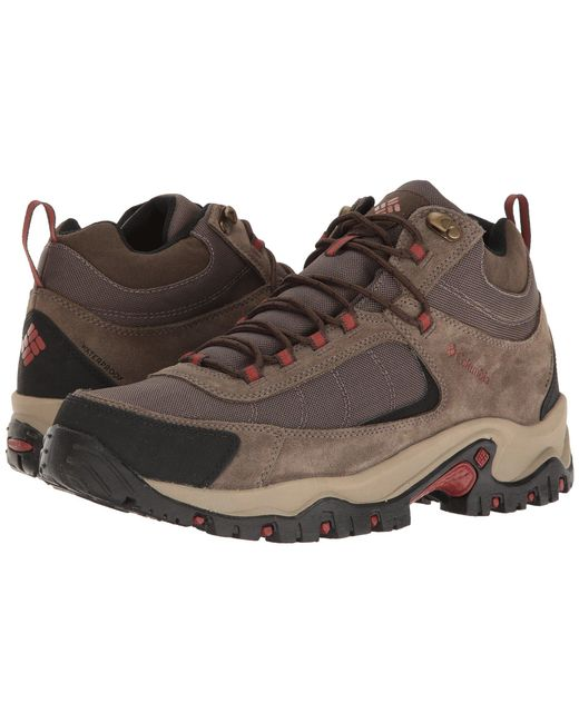 Columbia - Brown Granite Ridge Mid Waterproof (mud/rusty) Men's Shoes for Men - Lyst