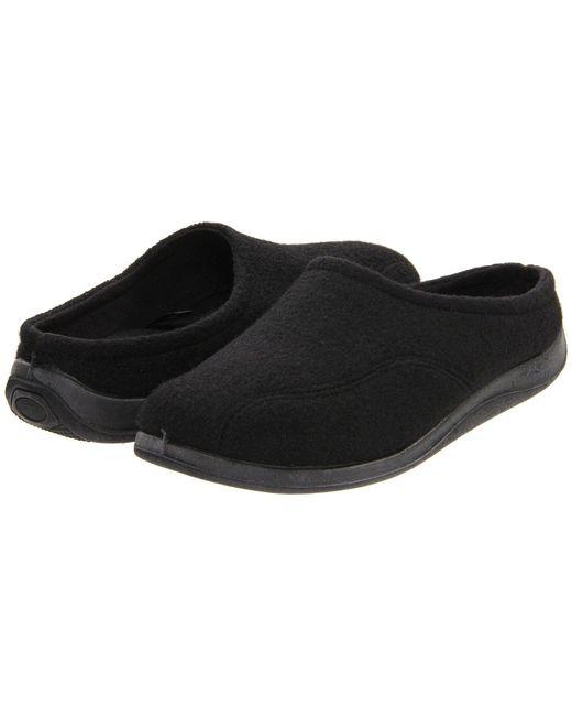 Foamtreads - Black Tomas (brown Wool) Men's Slippers for Men - Lyst