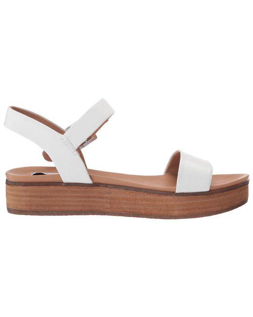 79b50dee2ed ... Lyst Steve Madden - White Aida (natural Snake) Women s Shoes ...