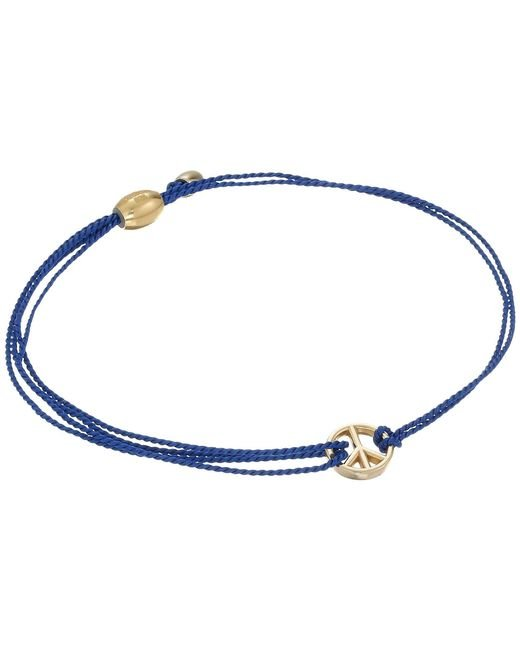 ALEX AND ANI - Kindred Cord Peace Blue - Lyst