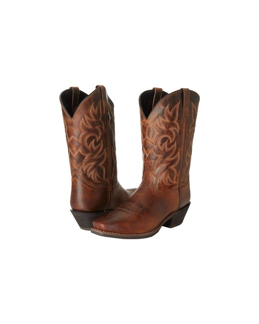 Laredo - Brown Breakout (rust Distressed) Cowboy Boots for Men - Lyst