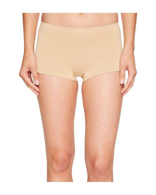 Hanro - Natural Touch Feeling Low-rise Boyleg 1696 (skin) Women's Underwear - Lyst