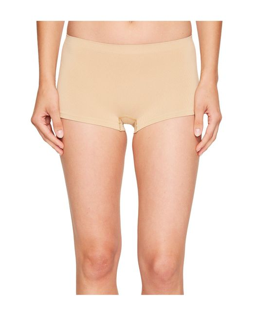 Hanro - Natural Touch Feeling Low-rise Boyleg 1696 - Lyst
