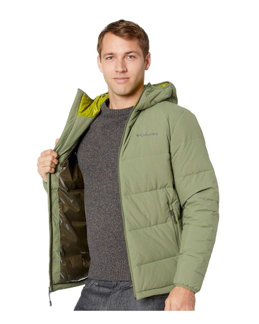 Lyst - Columbia Lone Fir 650 Turbodown Hooded Jacket ...